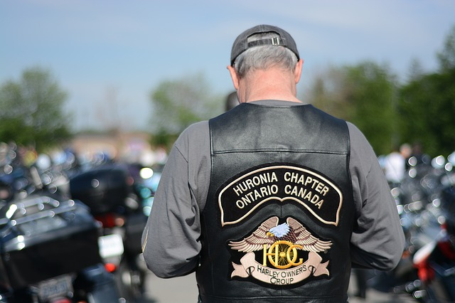 Biker Back Patch Image